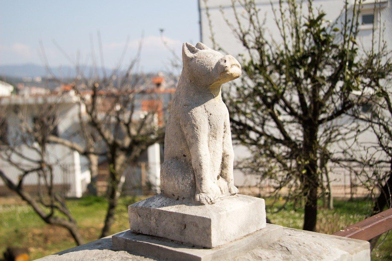 Geschiedenis hond sculptuur