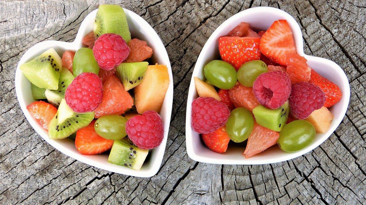 Gewichtsverlies met fruit