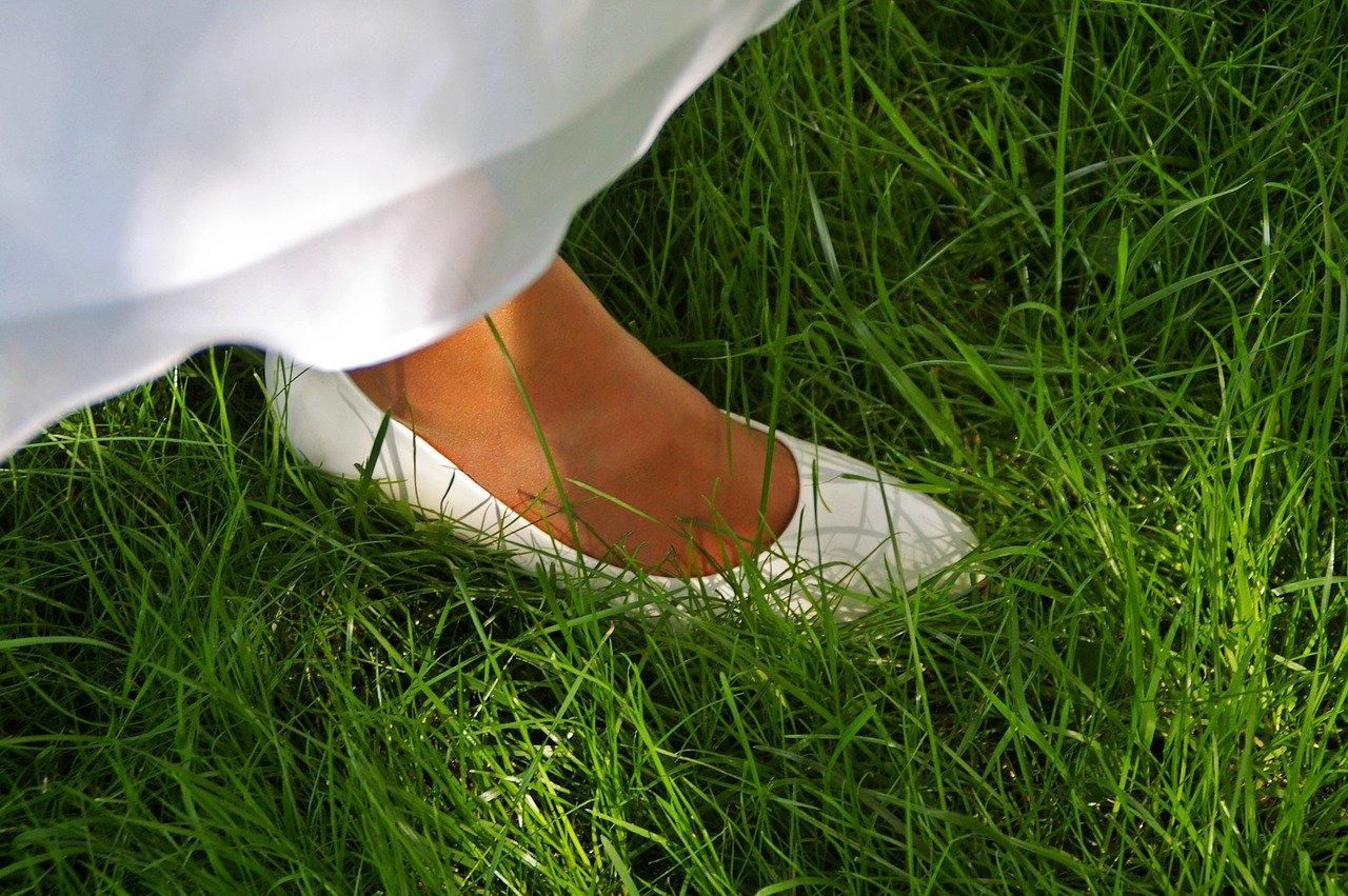 Wit voetje halen