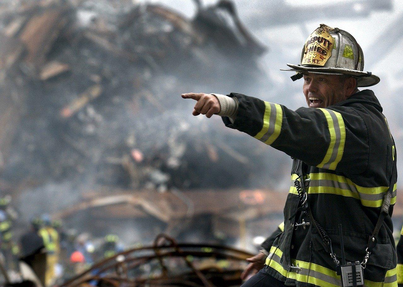 Brandweer 9/11 wtc aanslag ramp