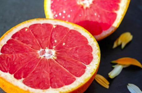 Grapefruits, goed bij Kalium tekort