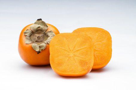Kaki, goed bij caroteen tekort